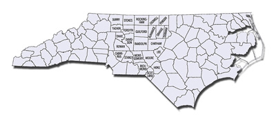 ncmd counties middle district of north carolina united states